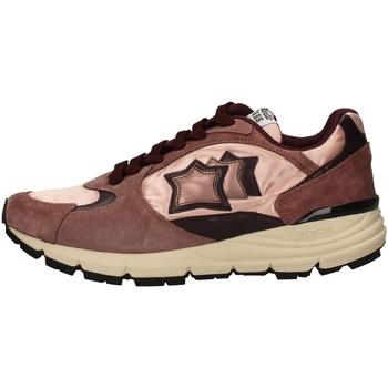 Schuhe Damen Sneaker Low Atlantic Stars MIRA-PR-F11 VIOLA