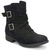 Schuhe Damen Boots Casual Attitude RIJONES Schwarz