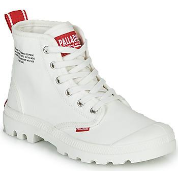 Schuhe Boots Palladium PAMPA HI DU C Weiss