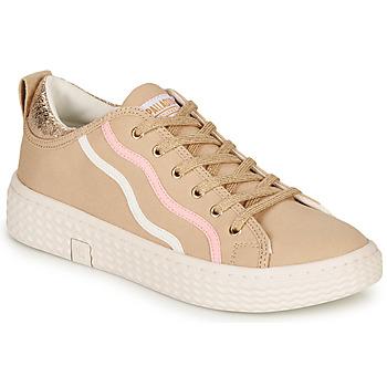 Schuhe Damen Sneaker Low Palladium TEMPO 02 CVS Beige
