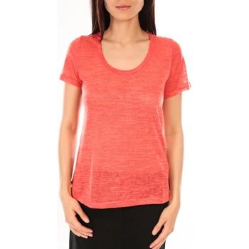 Kleidung Damen T-Shirts By La Vitrine T-Shirt BLV07 Corail Orange
