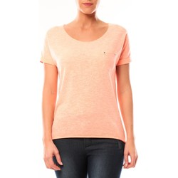 Kleidung Damen T-Shirts By La Vitrine Tee shirt S13090 Corail Orange