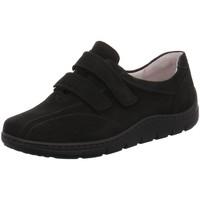 Schuhe Damen Sneaker Low Waldläufer Slipper Hassi 399304-191/001 schwarz
