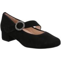 Schuhe Damen Ballerinas Hassia Slipper NOS 8-302457-01000 schwarz