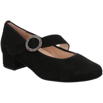 Schuhe Damen Ballerinas Hassia Slipper 8-302457-01000 schwarz