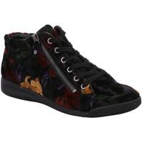 Schuhe Damen Sneaker High Ara Schnuerschuhe ROM ROM-STF 1244410-15 schwarz