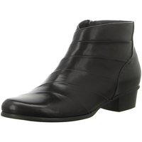 Schuhe Damen Ankle Boots Regarde Le Ciel Stiefeletten Stefany 293 Stiefelette STEFANY293-003BLACK schwarz