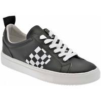 Schuhe Herren Sneaker Low Cult Bowieturnschuhe Schwarz