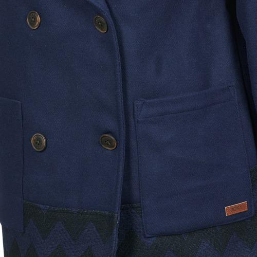 Roxy MOONLIGHT JACKET Marine / Schwarz - Kostenloser Versand |  - Kleidung Mäntel Damen 13230 fVD6x