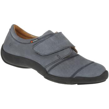 Schuhe Damen Slipper Binom Kletter Mia Farbe: blau blau