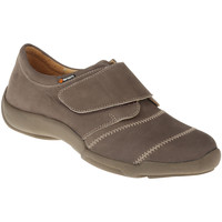 Schuhe Damen Slipper Binom Kletter Mia Farbe: hellbraun hellbraun
