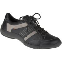 Schuhe Herren Sneaker Low Binom Schnürer Nico Farbe: schwarz schwarz