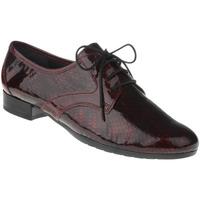 Schuhe Damen Derby-Schuhe Lei By Tessamino Schnürer Fiorella Farbe: dunkelrot dunkelrot