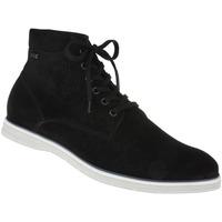 Schuhe Herren Sneaker High Lui By Tessamino Schnürer Damiano Farbe: schwarz schwarz