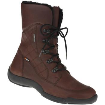 Schuhe Damen Schneestiefel Binom Stiefelette Antonia Farbe: braun braun