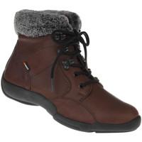 Schuhe Damen Schneestiefel Binom Stiefelette Cintia Farbe: braun braun