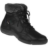 Schuhe Damen Schneestiefel Binom Stiefelette Cintia Farbe: schwarz schwarz