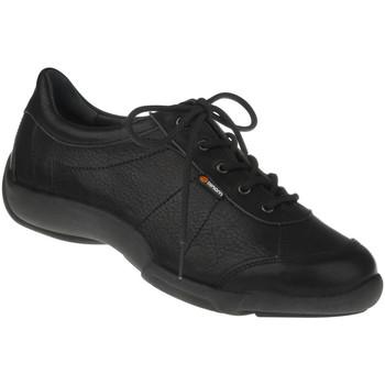 Schuhe Damen Derby-Schuhe Binom Schnürer Lauretta Farbe: schwarz schwarz