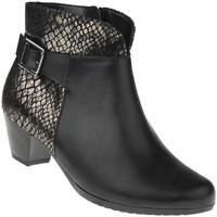 Schuhe Damen Low Boots Lei By Tessamino Stiefelette Letizia Farbe: schwarz schwarz