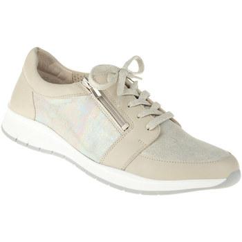 Schuhe Damen Sneaker Low Lei By Tessamino Schnürer Naara Farbe: beige beige