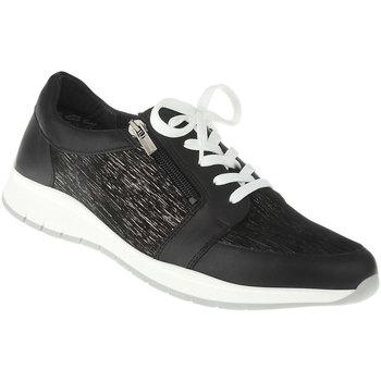 Schuhe Damen Sneaker Low Lei By Tessamino Schnürer Naara Farbe: schwarz schwarz