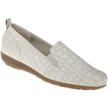 Schuhe Damen Slipper Natural Feet Slipper Clea Farbe: weiß weiß