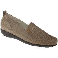 Schuhe Damen Slipper Natural Feet Slipper Clea Farbe: braun braun