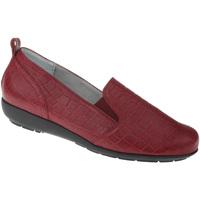 Schuhe Damen Slipper Natural Feet Slipper Clea Farbe: rot rot