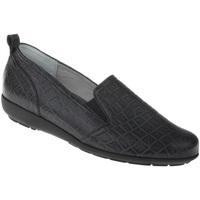 Schuhe Damen Slipper Natural Feet Slipper Clea Farbe: schwarz schwarz