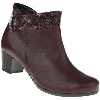 Schuhe Damen Low Boots Lei By Tessamino Stiefelette Sara Farbe: rot rot