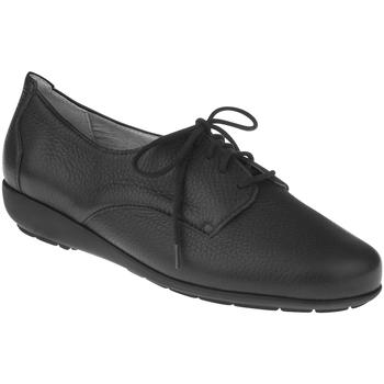 Schuhe Damen Derby-Schuhe Natural Feet Schnürer Larissa Farbe: schwarz schwarz