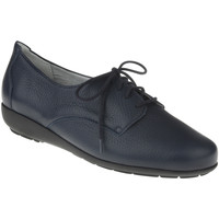 Schuhe Damen Derby-Schuhe Natural Feet Schnürer Larissa Farbe: blue blue