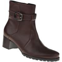 Schuhe Damen Low Boots Lei By Tessamino Stiefelette Mara Farbe: braun braun