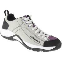 Schuhe Damen Sneaker Low Alpina Schnürer Lou Farbe: grau grau