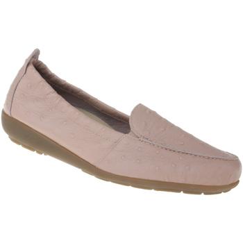 Schuhe Damen Slipper Natural Feet Mokassin Alessandra Farbe: rosa rosa