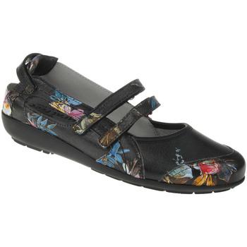 Schuhe Damen Ballerinas Natural Feet Ballerina Jule Farbe: schwarz schwarz