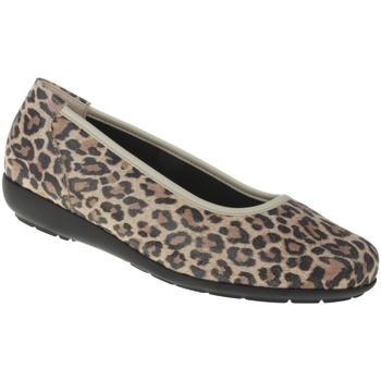 Schuhe Damen Ballerinas Natural Feet Ballerina Jasmin Farbe: hellbraun hellbraun