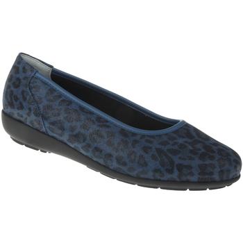 Schuhe Damen Ballerinas Natural Feet Ballerina Jasmin Farbe: blau blau