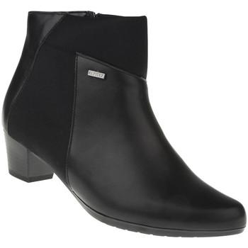 Schuhe Damen Low Boots Lei By Tessamino Stiefelette Adriana Farbe: schwarz schwarz