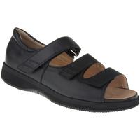 Schuhe Damen Sandalen / Sandaletten Natural Feet Sandalen Casablanca XL Farbe: schwarz schwarz