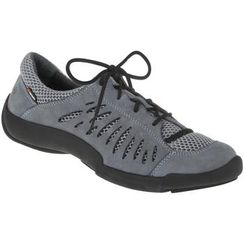 Schuhe Damen Sneaker Low Binom Schnürer Maria Farbe: blau blau