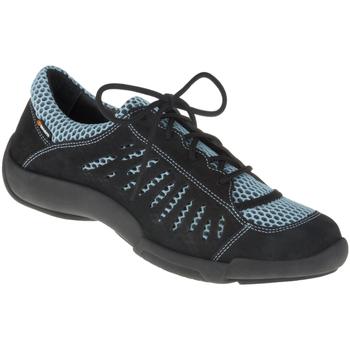 Schuhe Damen Sneaker Low Binom Schnürer Maria Farbe: schwarz schwarz