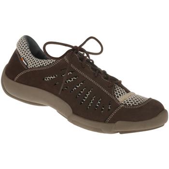 Schuhe Damen Sneaker Low Binom Schnürer Maria Farbe: braun braun