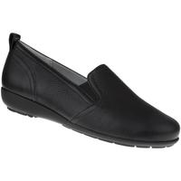 Schuhe Damen Slipper Natural Feet Slipper Clara Farbe: schwarz schwarz
