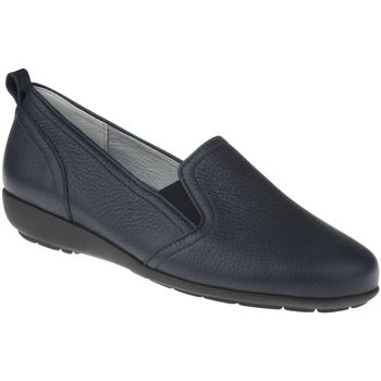 Schuhe Damen Slipper Natural Feet Slipper Clara Farbe: blue blue