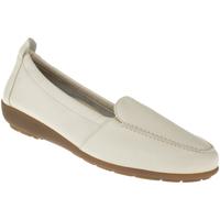 Schuhe Damen Slipper Natural Feet Mokassin Marie Farbe: beige beige
