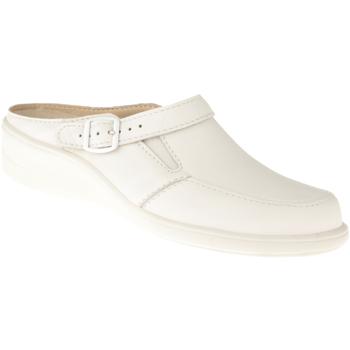 Schuhe Damen Pantoletten / Clogs Natural Feet Pantolette Füssing Farbe: weiß weiß