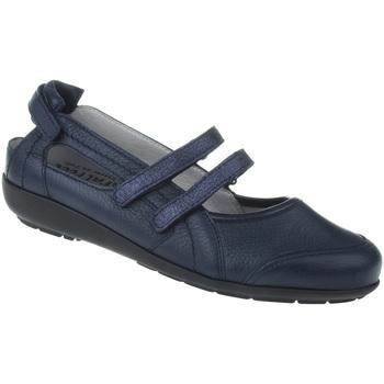 Schuhe Damen Ballerinas Natural Feet Ballerina Jennet Farbe: blau blau