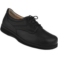 Schuhe Herren Derby-Schuhe Natural Feet Schnürer Kevin XL Farbe: schwarz schwarz