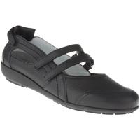 Schuhe Damen Ballerinas Natural Feet Ballerina Juliane Farbe: schwarz schwarz
